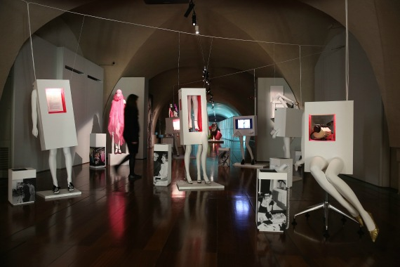 Isabella Blow Fashion Galore at Somerset House Display