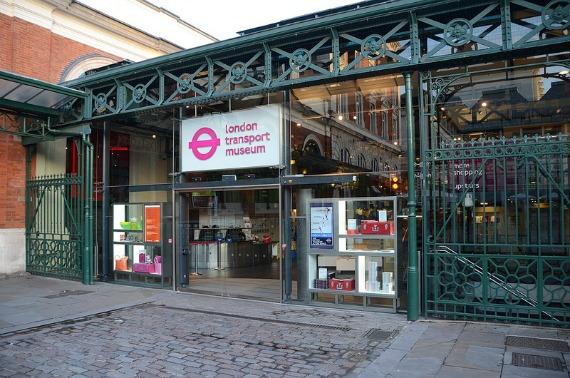 London Transport Museum Entrance