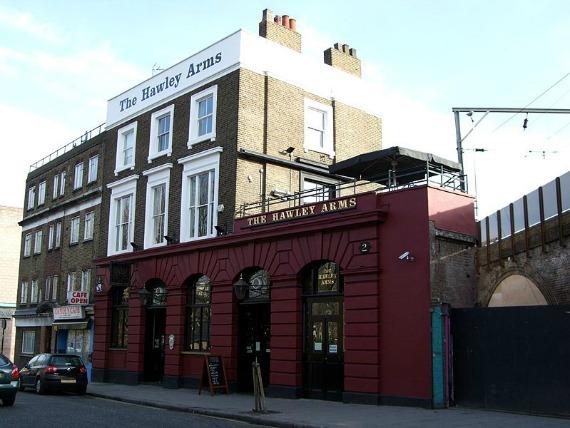 The splendid looking Hawley Arms