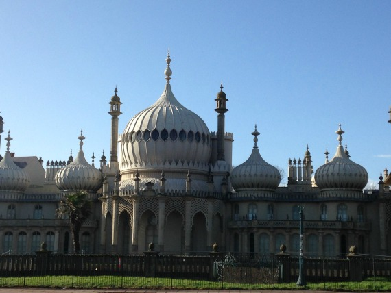 The elegant Royal Pavilion in the heart of Brighton