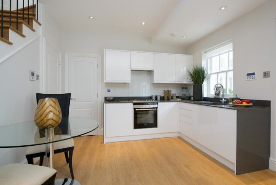 Chelsea Mews Home for Sale Modern Kitchen