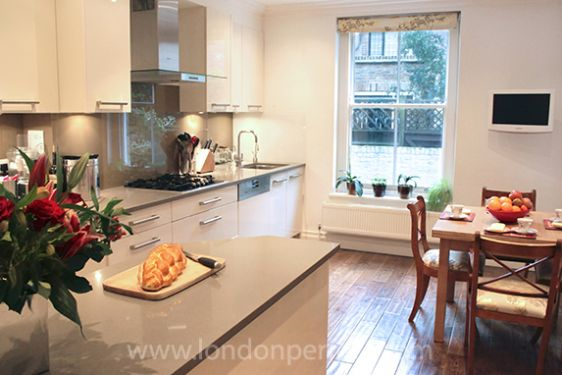 Modern Chelsea Kitchen in London Home