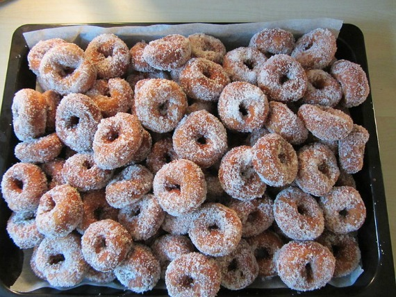 Doughnuts for breakfast, lunch and dinner