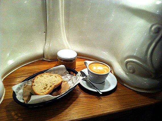 Attendant Cafe in London Fitzrovia
