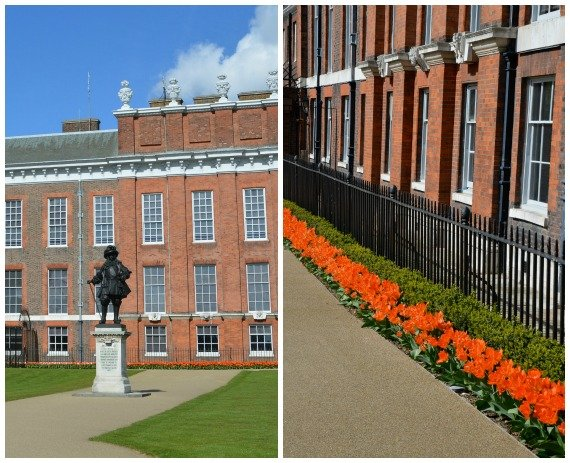 Kensington Palace William III and Orange Tulips