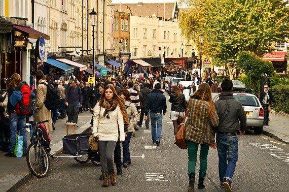 Take a stroll down Portobello Road
