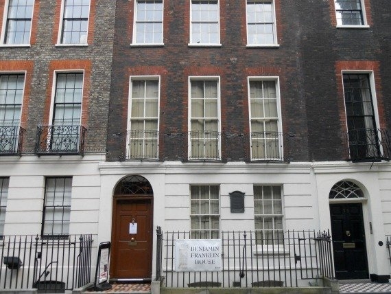 Benjamin Franklin House Museum London