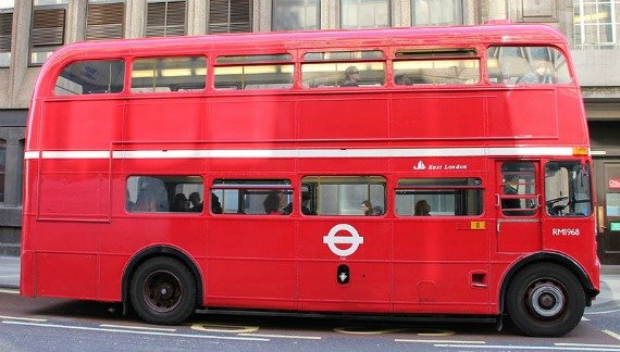 Step on to an iconic red routemaster