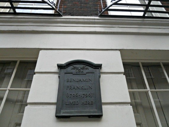 London Museum Benjamin Franklin House