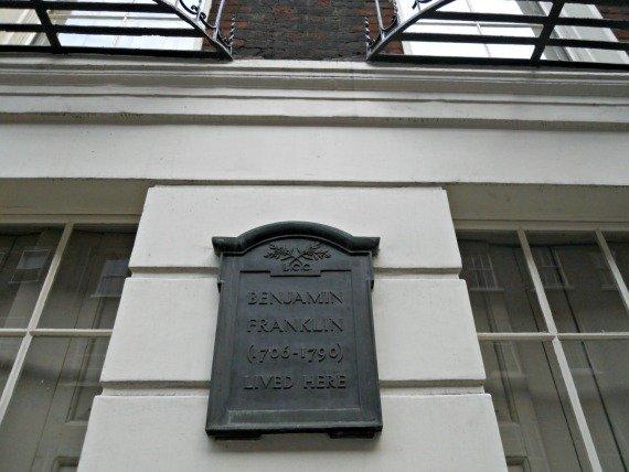 London Museum Benjamin Franklin House