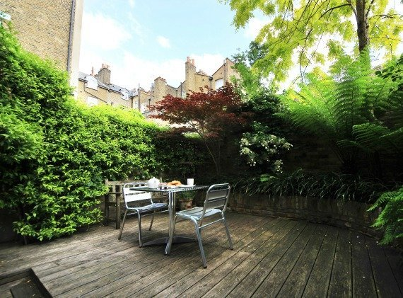 London Perfect Chelsea Vacation Rental Portland Garden Patio