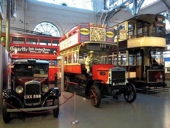 Inside London Transport Museum