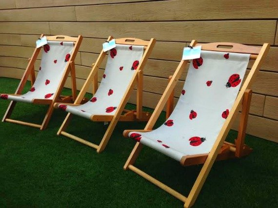 Deckchairs for the wee ones!
