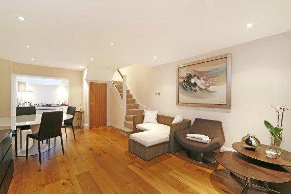 London Property for Sale Pembroke Place Kensington Living Room