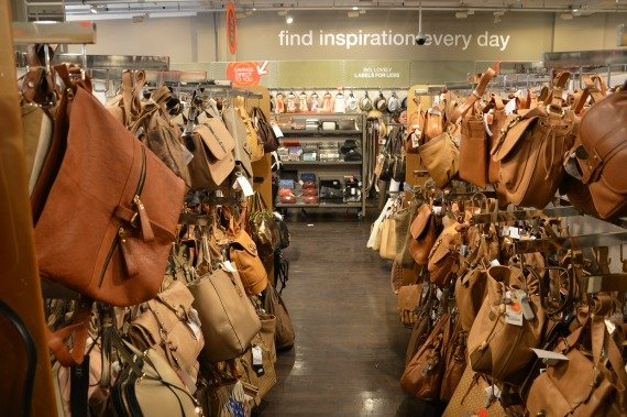 TKMaxx London Shop Beautiful bags in every colour