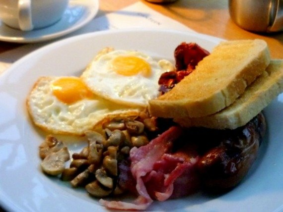 Full English Breakfast London quintessential British Food