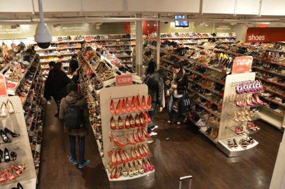TKMaxx London Shop Shoes BargainLarge shoe selection