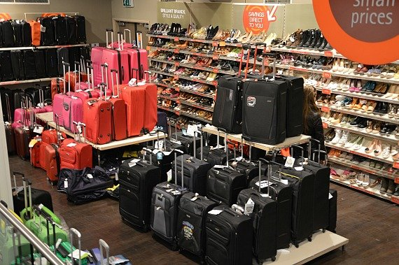 TKMaxx London Shoes luggage bags shop bargains