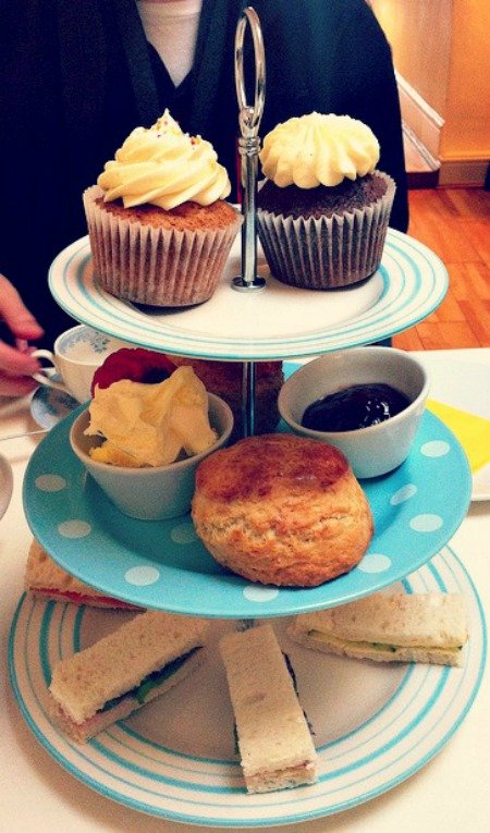 Afternoon Tea Quintessential British Food England London