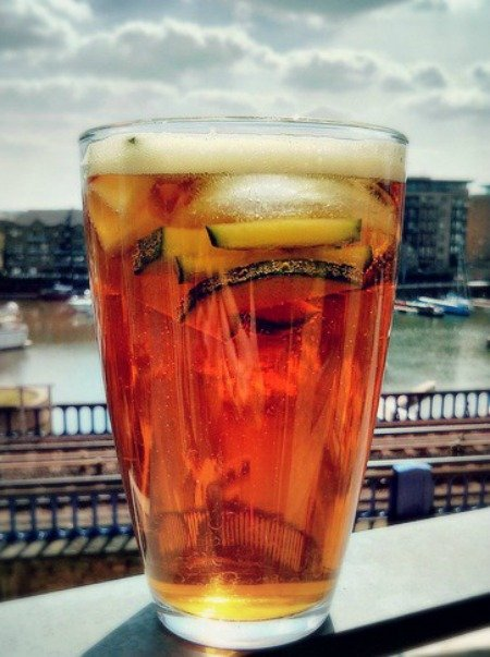Pimms No1 Drink London Quintessential British Food England
