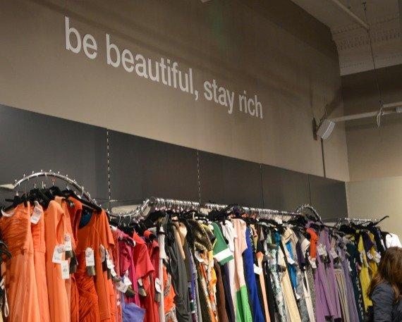 Be beautiful stay rich