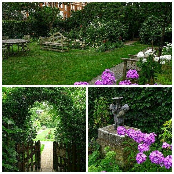London Perfect Austen Garden Kensington