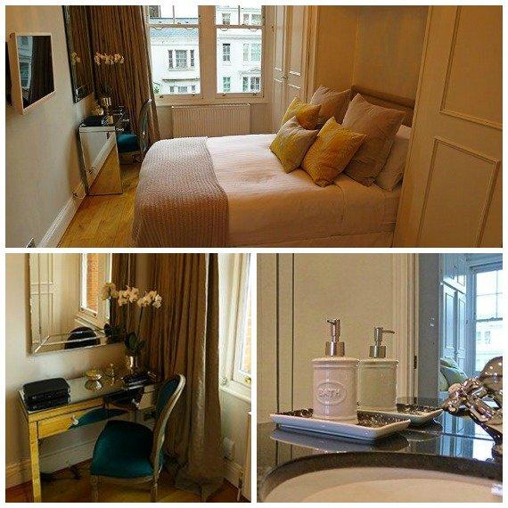 London Perfect Austen Master Bedroom with En Suite Bathroom