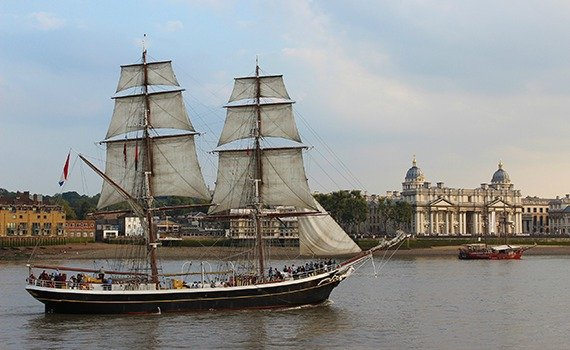 Royal Greenwich Tall Ships Festival in London