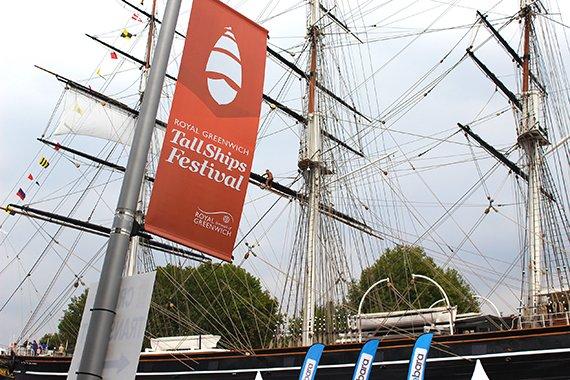 Royal Greenwich Tall Ships Festival 2014