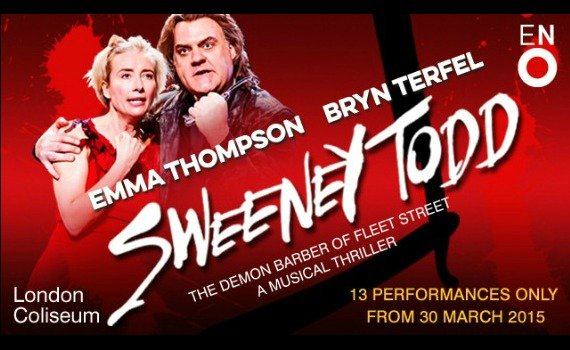 Book Your Tickets now to see Emma Thompson in Sweeney Todd!
