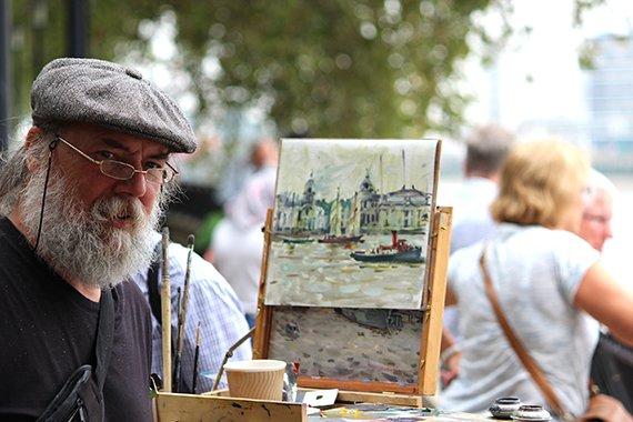 Tall Ships Festival London 2014 Artists