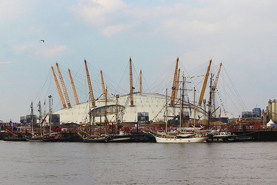 Tall Ships Festival London 2014 O2