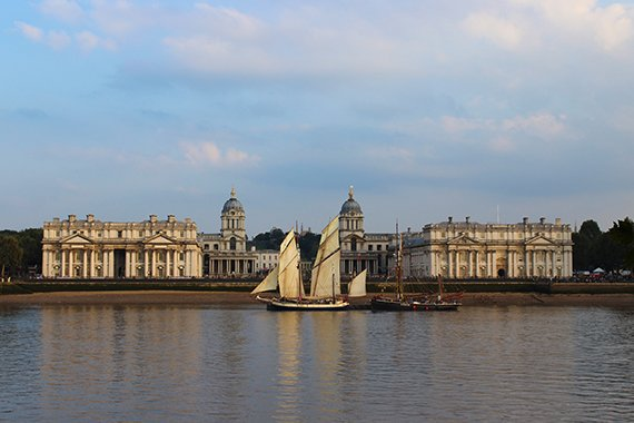 Tall Ships Festival London 2014 Old Royal Naval College