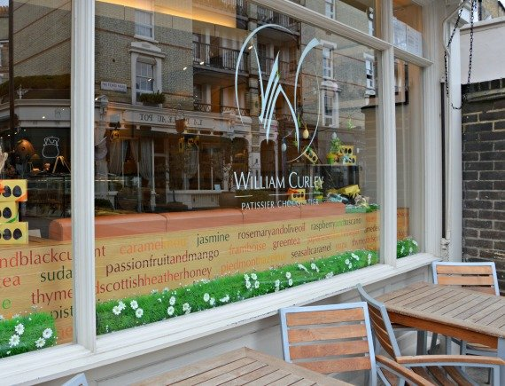 William Curley Chocolate Shop Ebury Street Belgravia London