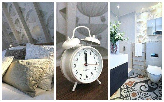 Westminster Vacation Rental Bedroom and En Suite Shower Room