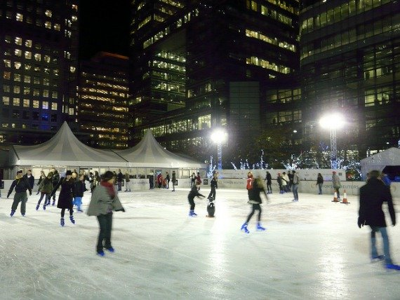 Canary Wharf Ice Rink London