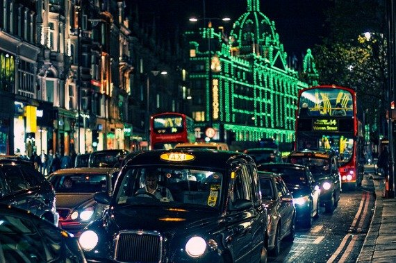 Christmas Knightsbridge London