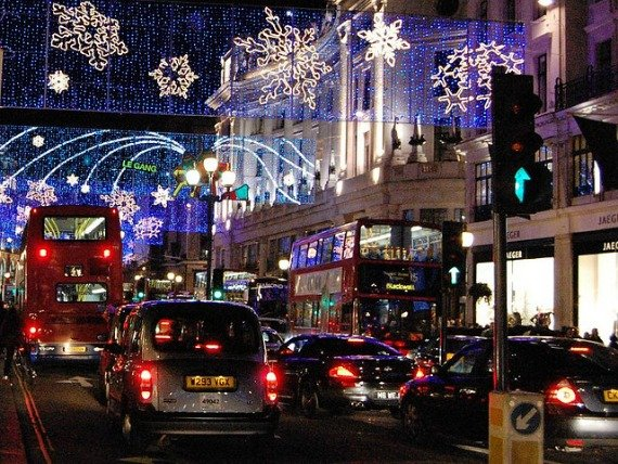 Christmas Lights and Decorations in London