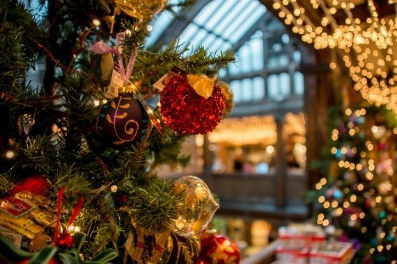Christmas Shopping Decorations Liberty of London