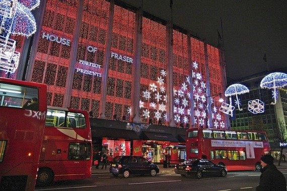 Christmas Shopping Oxford Street London