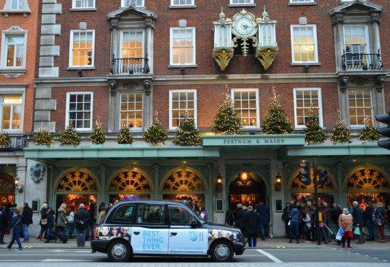 Christmas and Holiday Shopping Fortnum Mason London