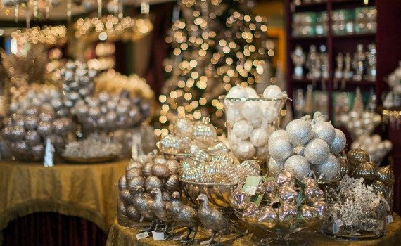 Fortnum and Mason Christmas Arcade Somerset House