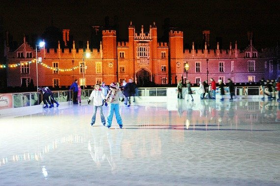 Ice Skating London Hampton Court Palace