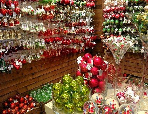 Liberty of London Shopping Christmas Decorations