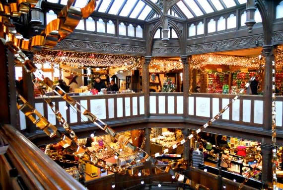 Liberty of London Shopping Christmas Interior