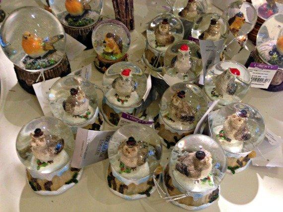 Cute little snow globes