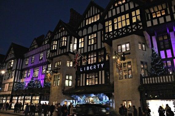 Liberty of London Shopping Christmas