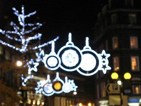 Marylebone Christmas Lights London