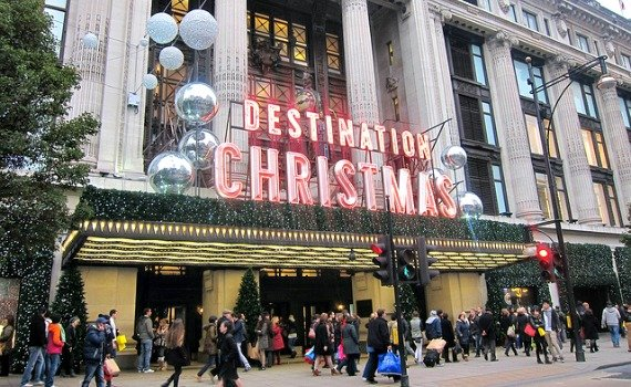 Oxford Street Christmas Lights Celebration
