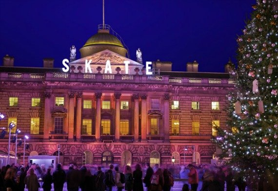 Skate at Somerset House London